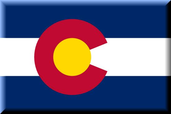 Colorado state flag, medical clinics