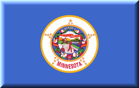 Minnesota state flag, medical clinics