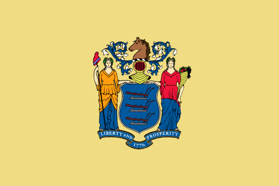 New Jersey state flag, medical clinics