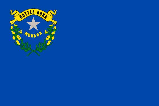 Nevada state flag, medical clinics