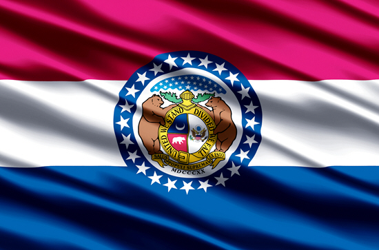 Missouri state flag, medical clinics