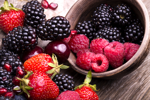 fresh berries health food