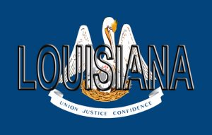 louisiana state flag 300x191