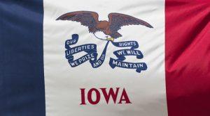 iowa state flag 300x167